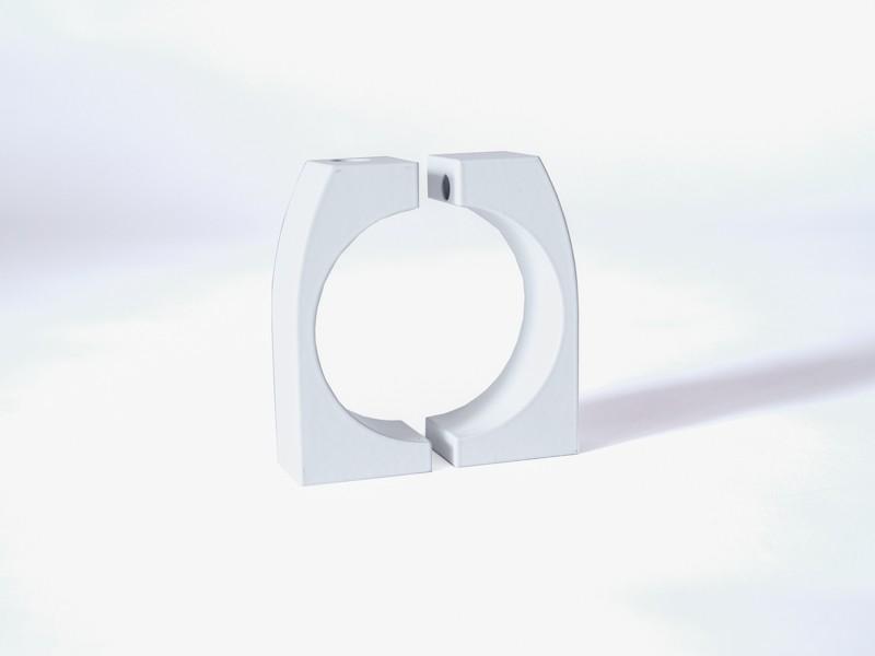 monlines mbr100w befestigungsring f r rohre 96 100mm s wei. Black Bedroom Furniture Sets. Home Design Ideas