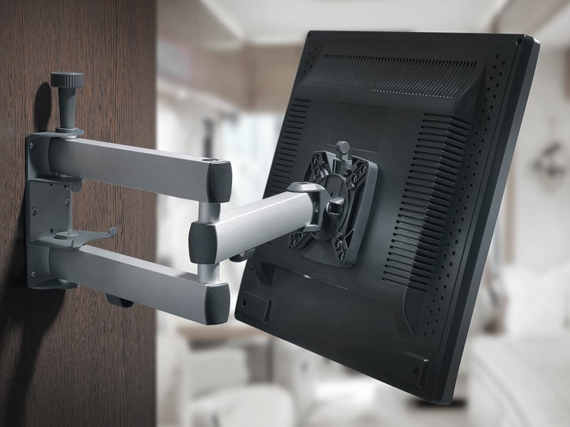 novus sky 10n tv wandhalterung arretierbar 200mm. Black Bedroom Furniture Sets. Home Design Ideas