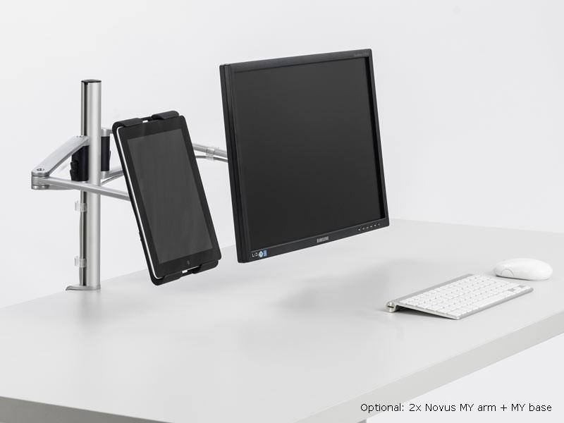 novus my tab universeller tablet halterung anthrazit 911 3005 000. Black Bedroom Furniture Sets. Home Design Ideas