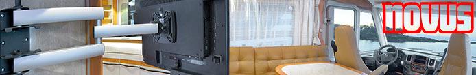 novus wohnmobil tv halterung wohnwagen halter womo. Black Bedroom Furniture Sets. Home Design Ideas