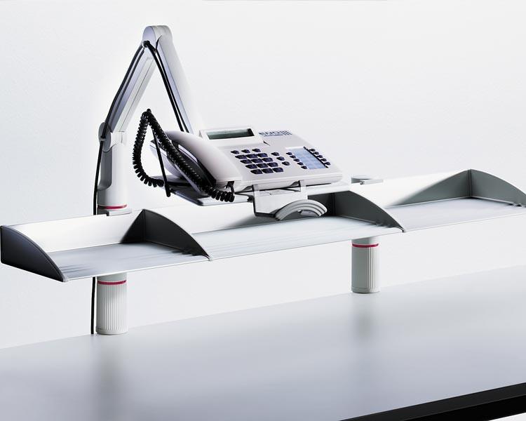 710+0005+000 NOVUS Telefon-Schwenkarm  TalkMaster anthrazit