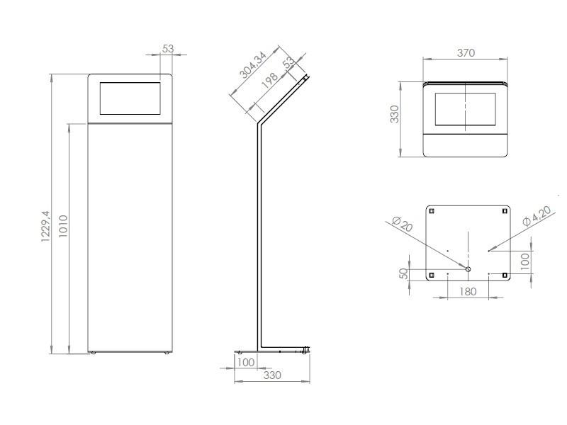 tablines tbs042 design tabletst nder apple ipad pro 12 9 quer. Black Bedroom Furniture Sets. Home Design Ideas
