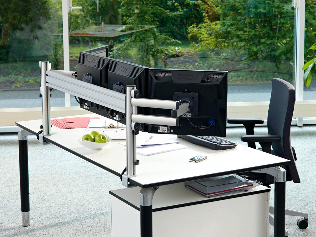 1x Tischklemme Halter Halterung für Tischlampe Schreibtisch Lampe Zubehör